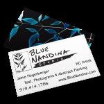 Blue Nandina Studio - Business Card