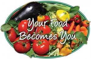 Robin Whitlow - Your Food Becomes You - veggies